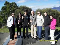 Cradle Coast Tour Guests
