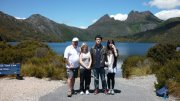 Nice tourists coming to Visit Cradle Mountain and Dove Lake